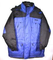 Starter Cold Weather Parka and Vest Blue and Black Size L Mens