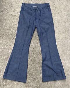 Vintage 80's Levis Original Pants Gold Tab talon USA BIG E Sta Prest jeans denim