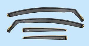 Wind Deflectors FOR VW POLO mk4 5-doors 2002-2009 9N/9N3 4-pcs ISPEED Tinted