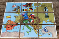 9x ORIGINAL EUROPA 80 PANINI COMPLETE EUROPEAN MAP STICKERS UNUSED