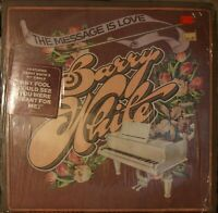 Barry White The Message Is Love LP soul disco funk IN SHRINK w/ HYPE STICKER