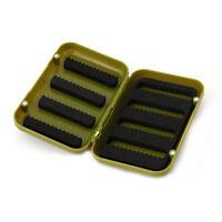 Waterproof Storage Case Fly Fishing Lure Bait Plastic Flies Hook Foam Tackle Box
