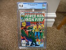 Power Man and Iron Fist 89 cgc 9.8 Marvel 1983 MINT WHITE pgs Luke Cage TV show
