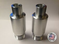 """Harley 41mm Fork Tube 2"""" Extensions for AIR RIDE Street Ultra Glide Road King"""