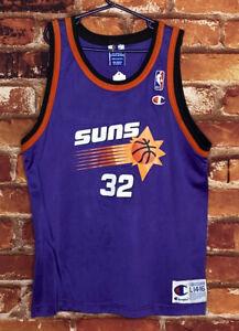 Vintage Kids Champion Phoenix Suns Jason Kidd Jersey Size Large 14-16