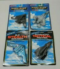 TootsieToy Hard Body Jet F-22 Advanced Tactical B-2 Stealth Bomber F-117 Fighter