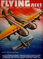 "Flying Aces Magazine January 1943 Vol.43 No 2 ""Coming-200 Ton Cargo Planes"""