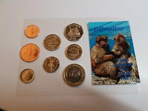1 Penny - 2 Pounds 2006 Rare Set KMS Excellent Condition Coins Gibraltar