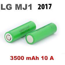 2 x Genuine LG MJ1 18650 3500mAh 10A Lithium  Li Ion High Drain Batteries ,,