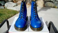 1990's Vintage Dr. Martens Royal Blue US 10 Boots 1460 uk8-Eye airwair doc shoes