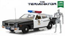Greenlight 1/18 The Terminator 1977 Dodge Monaco METRO Police Car w/ T800 Figure