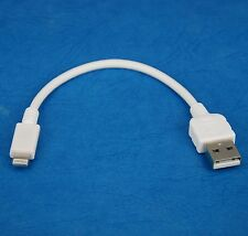 "4"" 10cm Quick Charger Charging ONLY USB cable WHITE for iPad Pro Air 2 4 mini 3"