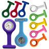 New Nurse Watch Light Silicone Brooch Tunic FOB Medical Pocket Mini Watch Timer
