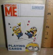 Minions Playing Cards Despicable Me Cardinal New Free Tracking Kids