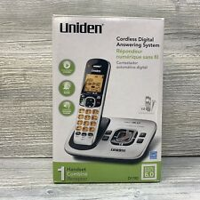 Uniden D1780 DECT 6.0 Cordless Phone Digital Answering System Expandable