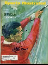 GAY BREWER MASTERS GOLFER DECEASED SPORTS ILLUSTRATED autographed signed