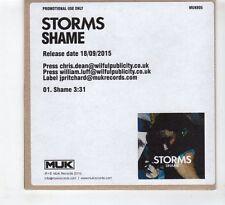 (HD755) Storms, Shame - 2015 DJ CD