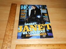 HX Magazine Janet Jackson TOBER BRANDT Ad,The Spike Bar Ad,HOLTQUIST Ad 2008 Gay
