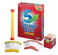 5 Second Rule Board Game NEW - Family Fun Games for Adults,Parties,Friends