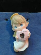 """NOS AVON PRECIOUS MOMENTS """"YOU ARE ALWAYS THERE FOR ME"""" ANGEL PIN BROACH"""