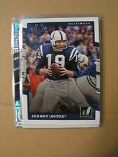 Johnny Unitas 2017 Donruss NFL Legends Card Baltimore Colts 229