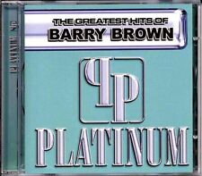 SEALED NEW CD Barry Brown - Platinum: Greatest Hits