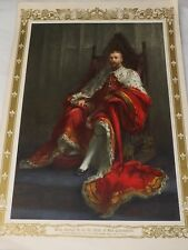 KING GEORGE V  IN THE YEAR OF HIS CORONATION from painting C.OULESS