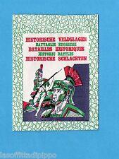 BATTAGLIE STORICHE - COX anni '70 - BUSTINA FIGURINE ANCORA CHIUSA - OTTIMA