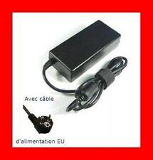 ★ CHARGEUR PORTABLE 90W HP PAVILLON DV3 DV4 DV5 DV6 DV7 + Cable Secteur