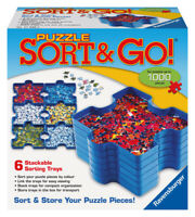 17930 Ravensburger Puzzle Sort & Go [Adult Jigsaw Puzzle] New in Box!