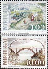 Portugal 1376-1377 (kompl.Ausg.) gestempelt 1977 Eisenbahnlinie