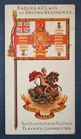 NORTHUMBERLAND FUSILIERS     Original 1904 Vintage Card
