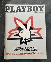 PLAYBOY Magazine January 1979 Twenty-Fifth Anniversary 25th Vintage Back Issue