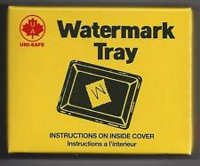 "CWS or Uni-Safe Watermark Detection Tray 3-3/8"" x 2-5/8"""