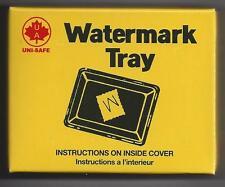 "Uni-Safe Watermark Detector Tray 3-3/8"" x 2-5/8"""