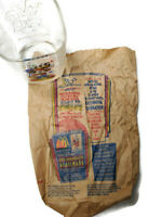 Walt Disney McDonald's 2000 Mickey Hollywood Vine Glass & Paper Bag - France