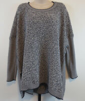 Cabi Womens Size Medium Port-of-Call Oversized Pullover Sweater Style# 140