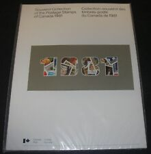 Annual Souvenir Collection Postage Stamps of Canada Album 1981 #24 MNH Sealed