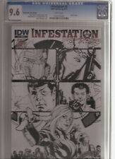 INFESTATION #2 CGC 9.6 RETAILER SKETCH VARIANT COVER