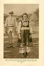 1920 Bulgaria 16-year-old Peasant Girl Melnik Junction