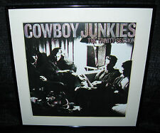 """COWBOY JUNKIES the Trinity Session (Framed 1988 U.S. """"In-Store"""" Promo Flat)"""