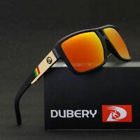 [DUBERY] Men's Sport Polarized Sunglasses Outdoor Riding Fishing Square Eyewear