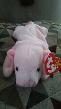 Squealer Beanie Baby with tag error
