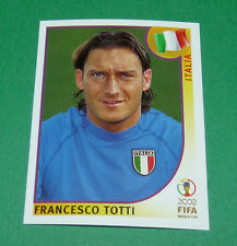 N°470 TOTTI ITALIA ITALY PANINI FOOTBALL JAPAN KOREA 2002 COUPE MONDE FIFA