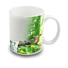 Custom Printed Photo Mug with Beautiful Natural Design