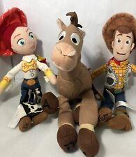 Disney Pixar Toy Story Woody, Jessie and Bullseye Plush