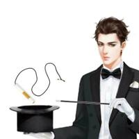 Zaubertrick verschwinden Zigaretten in der Nase Magic Spielzeug Props J4S0