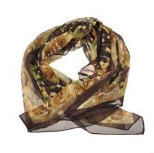 Sciarpe, foulard e scialli da donna marrone fantasia strisce