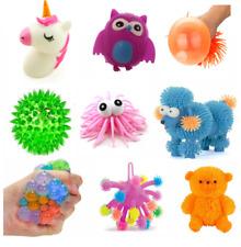 Light up Squidgy Puffer Monster Toys Monster LED Novelty Sensory Light up Toy 10