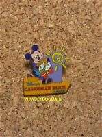 Old Retired Disney pin Mickey Mouse Playing Bongos Caribbean Beach Resort Hotel